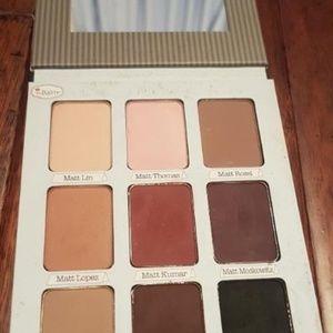 theBalm Makeup - theBalm MEET MATT(E) TRIMONY eyeshadow palette